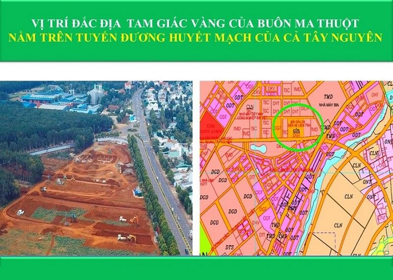 Vị trí đắc địa dự án Eco City Premia Buôn Ma Thuột