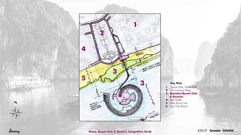 Ý tưởng thiết kế dự án Domino Hạ Long 99 tầng của Sungroup