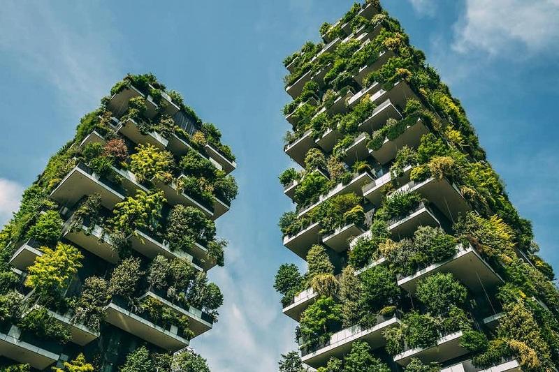 Concept Vertical Forest chung cư Sol Forest Ecopark dự kiến 2