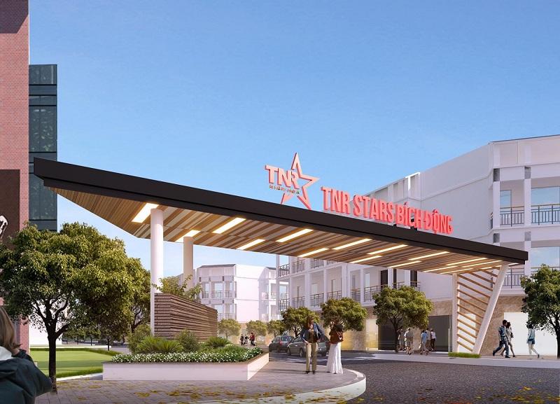 Cổng dự án TNR Stars Bích Động - Việt Yên - Bắc Giang 2020