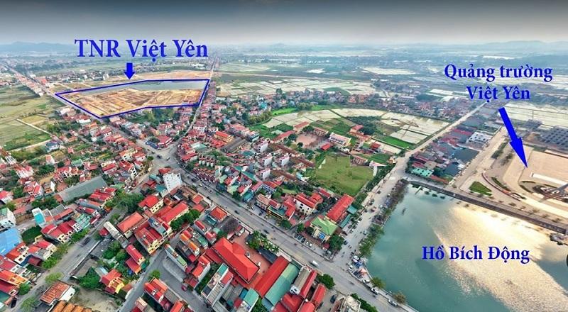 Flycam dự án Khu đô thị TNR Star Bích Động - Việt Yên - Bắc Giang
