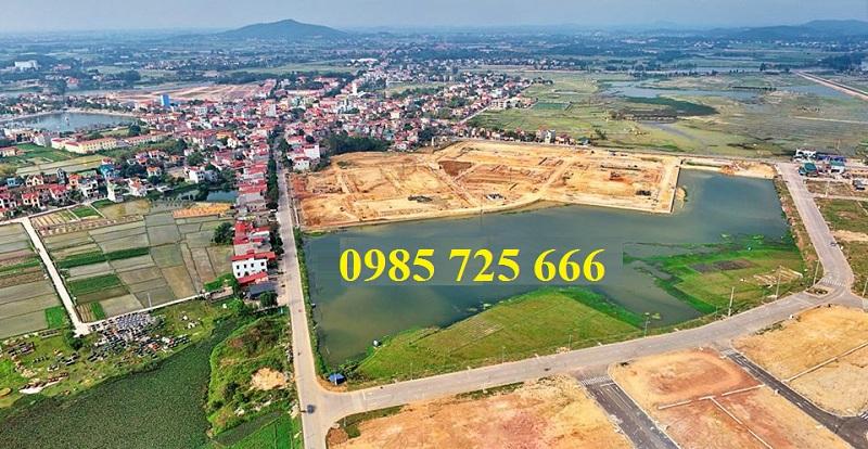 Hiện trạng dự án Khu đô thị TNR Star Bích Động - Việt Yên - Bắc Giang