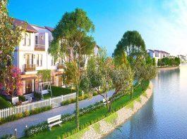 Không gian xanh mát dự án khu đô thị Sudico Nam An Khánh 2020