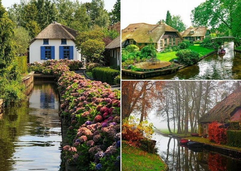 Ngôi biệt thự Làng Hà Lan trong khu đô thị Ecopark 2