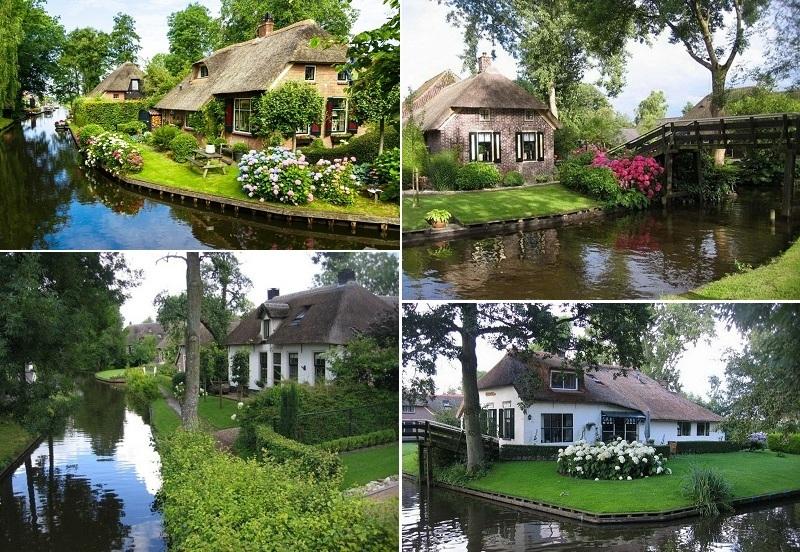 Ngôi biệt thự Làng Hà Lan trong khu đô thị Ecopark 3