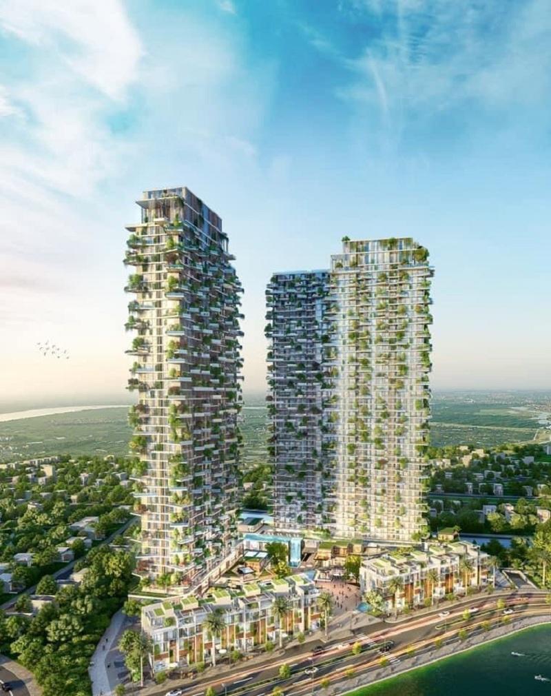 Phối cảnh Sol Forest Ecopark 2020