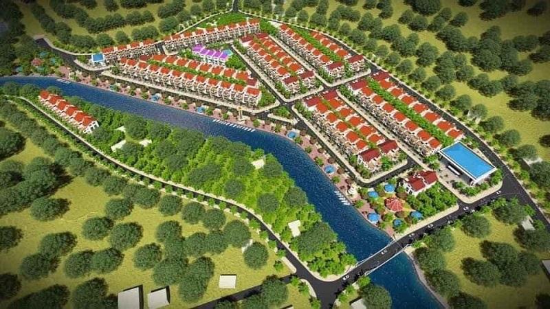 Phối cảnh khu dân cư Bến Sơn - Yên Lập Riverside - Phú Thọ