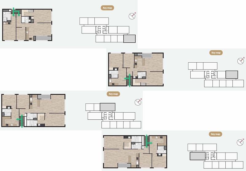 Thiết kế căn hộ dự án Prugio Ecopark