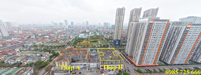 Tiến độ thi công Lacasta Tower Văn Phú - Hà Đông