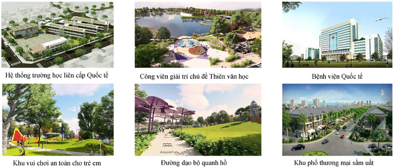Tiện ích ngoại khu dự án chung cư Anland LakeView Dương Nội