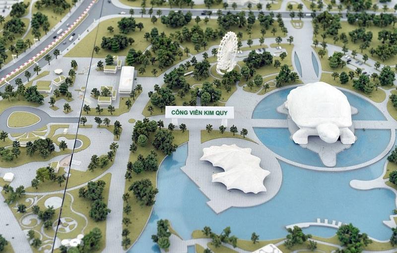 Dự án Công viên Kim Quy của tập đoàn Sungroup tại Đông Anh
