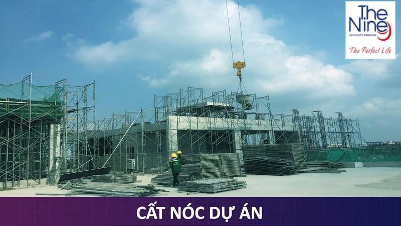 Cất nóc chung cư The Nine số 9 Phạm Văn Đồng tháng 5/2021