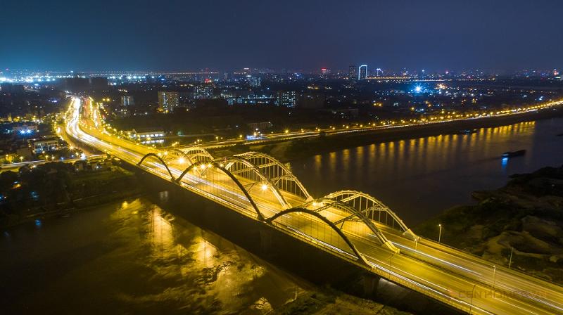 Cầu Đông Trù rộng nhất VN nối Đông Anh và Long Biên