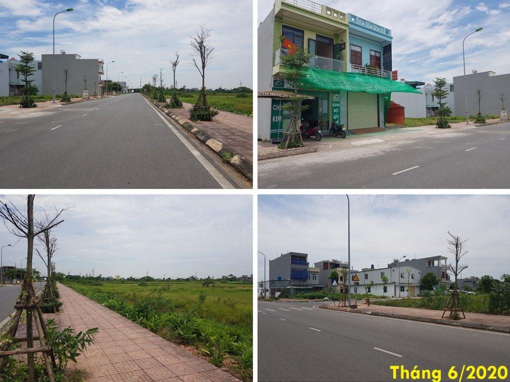 Hình ảnh thực tế 2 dự án TNR Grand Palace Đông Mỹ - Thái Bình