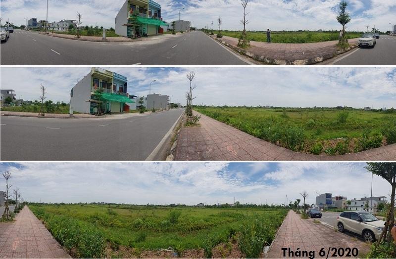 Hình ảnh thực tế dự án TNR Grand Palace Đông Mỹ - Thái Bình