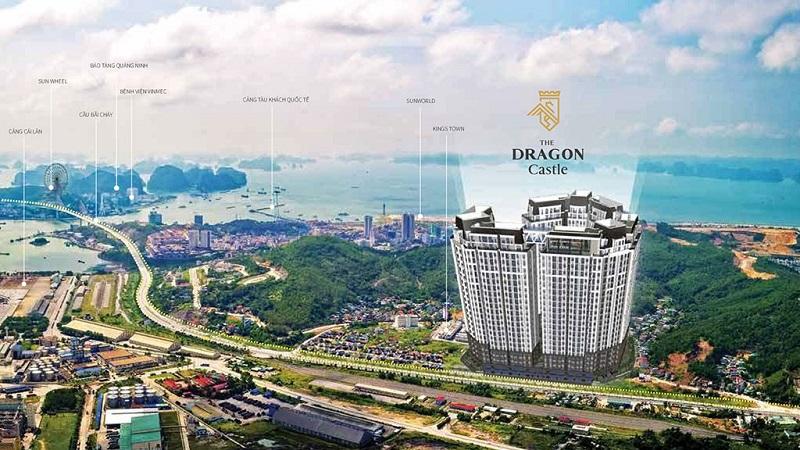 Kết nối từ chung cư Dragon Castle Hạ Long