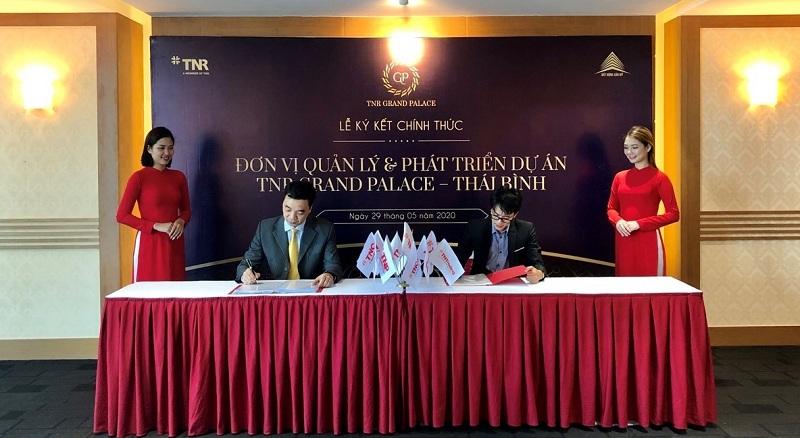 Lễ ký kết dự án TNR Grand Palace Đông Mỹ - Thái Bình