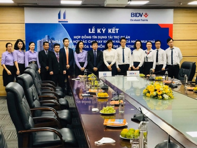 Lế ký kết hợp tác dự án chung cư The Nine Tower số 9 Phạm Văn Đồng