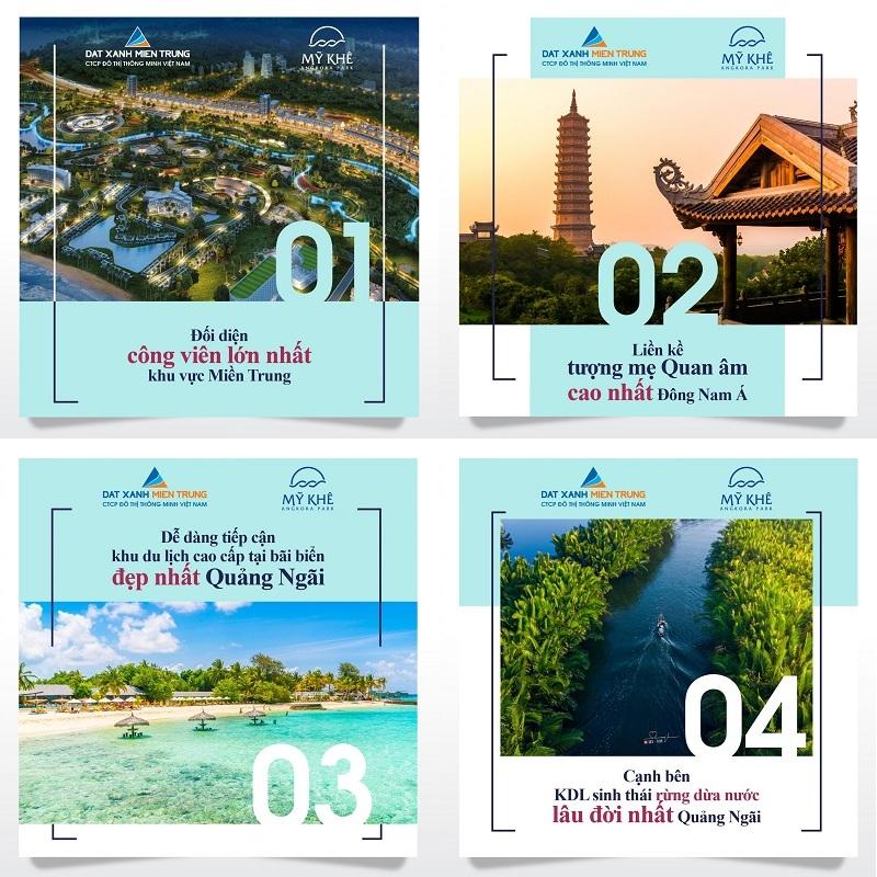 Lí do nên mua ngay dự án Mỹ Khê Angkora Park Quảng Ngãi