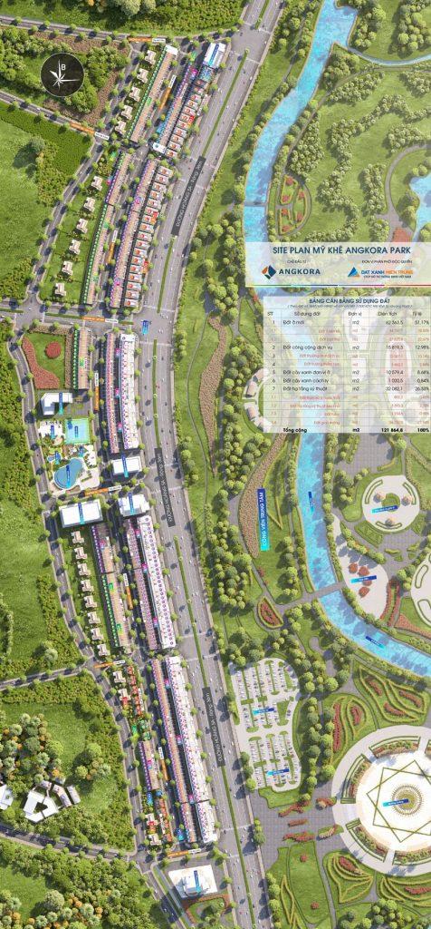 Master Plan dự án Mỹ Khê Angkora Park Quảng Ngãi