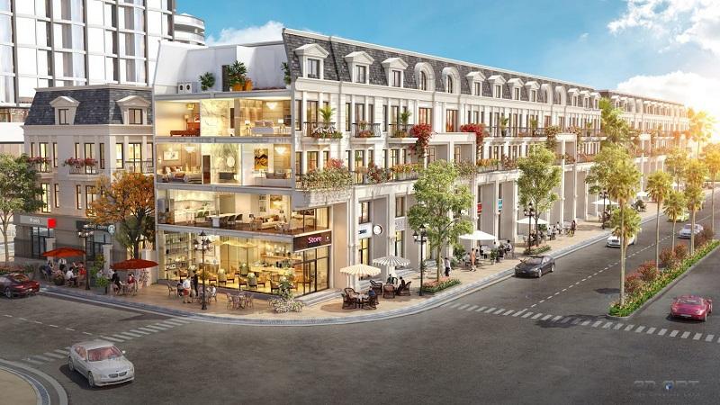 Nhà phố shophouse dự án TNR Grand Palace Đông Mỹ - Thái Bình