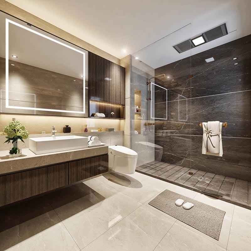 Nội thất WC căn hộ dự án TNR The Nosta 90 Đường Láng