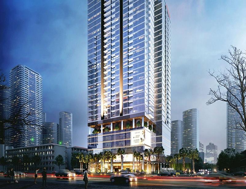 Phối cảnh 2 dự án chung cư The Nine Tower số 9 Phạm Văn Đồng