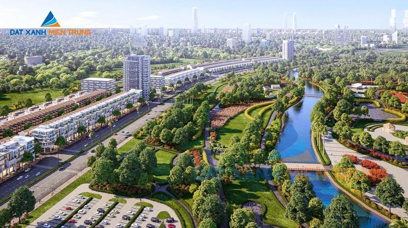 Phối cảnh 3 dự án Mỹ Khê Angkora Park Quảng Ngãi