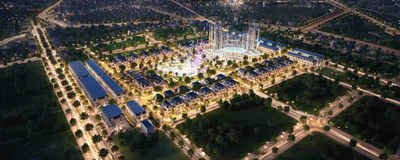 Phối cảnh 3 dự án TNR Grand Palace Đông Mỹ - Thái Bình