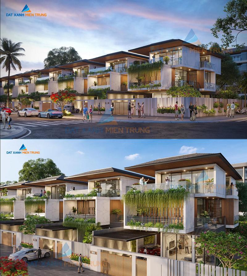 Phối cảnh Biệt thự dự án Mỹ Khê Angkora Park Quảng Ngãi