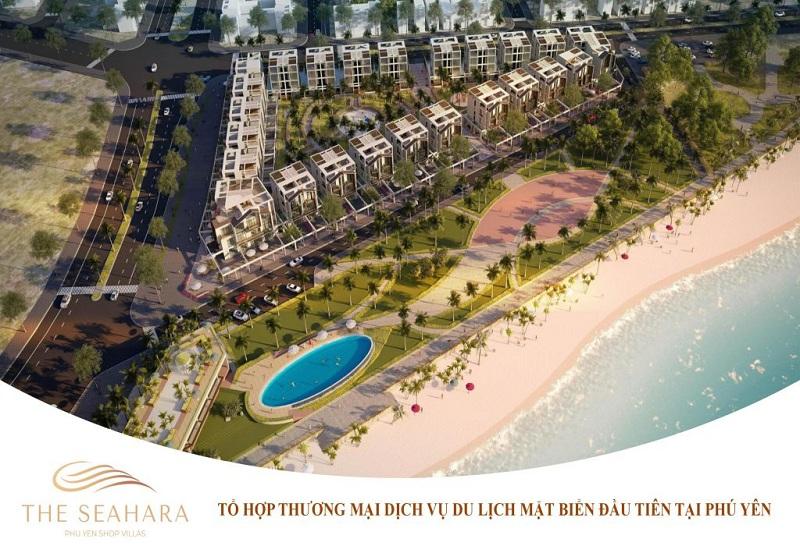 Phối cảnh dự án The Seahara Tuy Hòa - Phú Yên