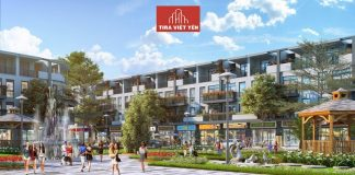 Phối cảnh liền kề nhà phố thương mại dự án Tira Hồng Thái - Việt Yên - Bắc Giang