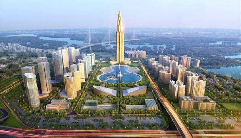 Phối cảnh dự án thành phố thông minh BRG - Sumitomo Đông Anh