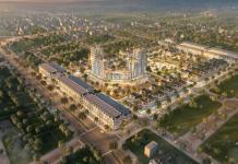 Phối cảnh dự án TNR Grand Palace Đông Mỹ - Thái Bình