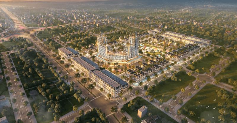 TNR Grand Palace Đông Mỹ - Thái Bình - Bảng Giá GỐC Liền Kề, Biệt Thự