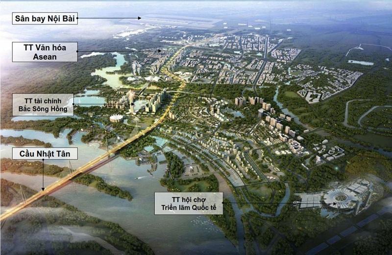 Siêu dự án Asean City quy mô 200ha tại Đông Anh