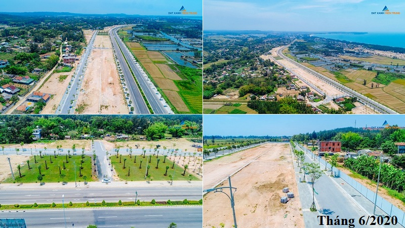 Tiến độ 1 dự án Mỹ Khê Angkora Park Quảng Ngãi