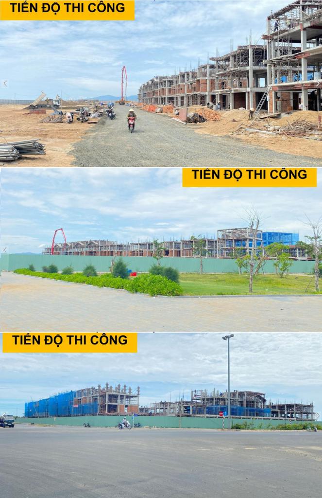 Tiến độ thi công Shop Villas Seahara Phú Yên tháng 9-2020