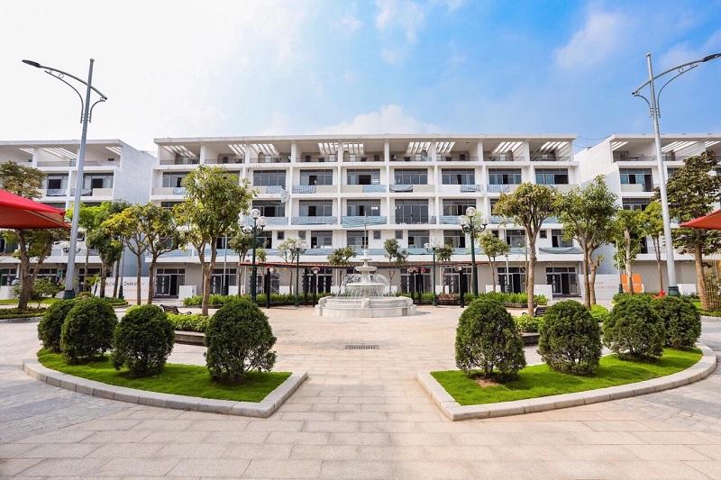 Tiến độ hoàn thiện dự án Shophouse Bình Minh Garden 93 Đức Giang