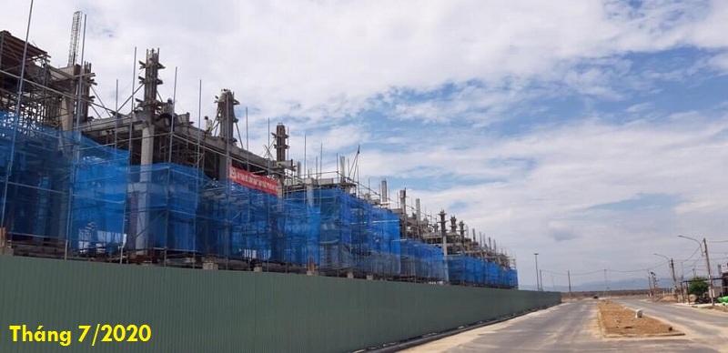 Tiến độ thực tế dự án Shop Villas The Seahara Tuy Hòa - Phú Yên