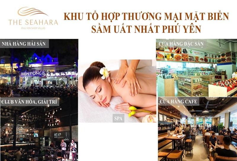 Tiện ích nội khu dự án The Seahara Tuy Hòa - Phú Yên