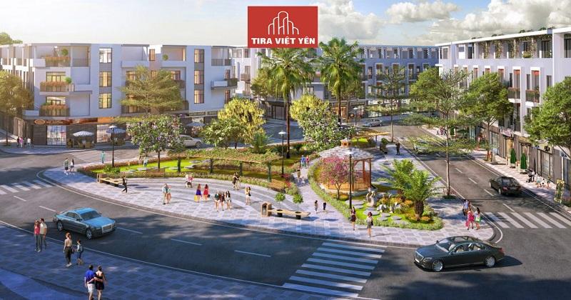 Tiện ích nội khu dự án Đất nền Tira Hồng Thái - Việt Yên - Bắc Giang