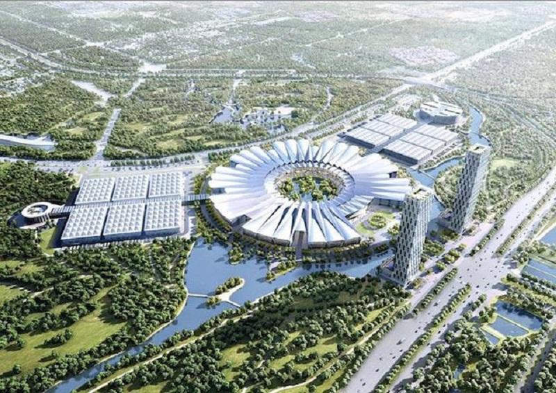 Dự án Trung tâm hội chợ triển lãm Quốc Gia - Đông Anh