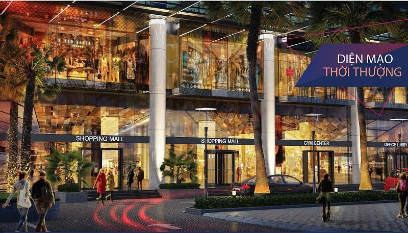 Trung tâm thương mại dự án chung cư The Nine Tower số 9 Phạm Văn Đồng