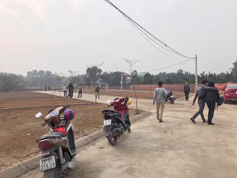 Ảnh thực tế 4 khu dân cư Đồi Sen - Bình Yên - Hòa Lạc