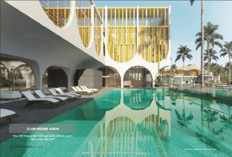 Clubhouse Aqua dự án Meyhomes Capital Phú Quốc - Tân Á Đại Thành