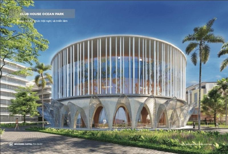Clubhouse Ocean Park dự án Meyhomes Capital Phú Quốc - Tân Á Đại Thành