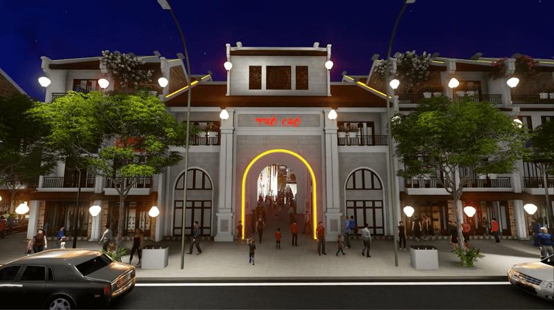 Cổng Phố Chợ Kinh Bắc - Từ Sơn
