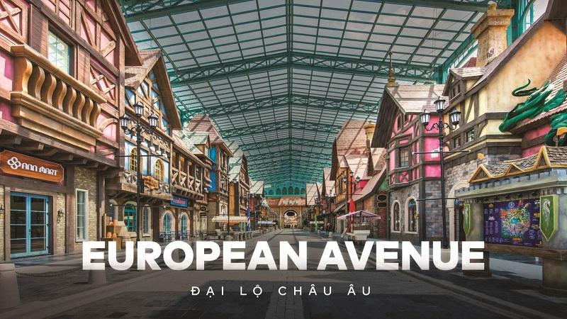 Đại lộ Châu Âu VinWonder Phú Quốc