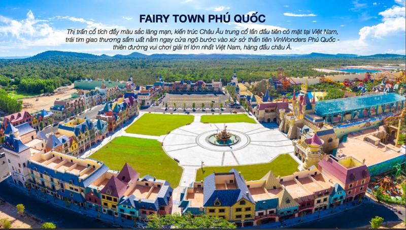 Fairy Town trong Shophouse VinWonder Phú Quốc